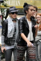 Madonna and Lourdes out and about in New York, 1 October 2011 - update 01 (8)