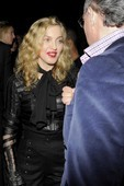 Madonna at The Skin I Live In after-party, 13 October 2011 (3)