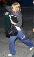 Madonna out and about in New York, 17 October 2011 (8)