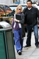Madonna out and about in New York, 17 October 2011 (11)