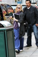 Madonna out and about in New York, 17 October 2011 (13)