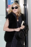 Madonna at Heathrow airport, October 24 2011 (1)