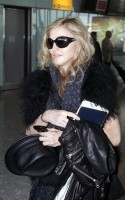 Madonna at Heathrow airport, October 24 2011 (9)