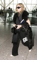 Madonna at Heathrow airport, October 24 2011 (10)