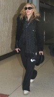 Madonna arriving at JFK airport, New York - 24 October 2011 (5)