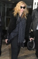 Madonna arriving at JFK airport, New York - 24 October 2011 (4)