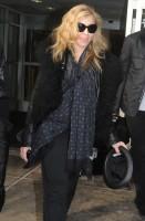 Madonna arriving at JFK airport, New York - 24 October 2011 (4)