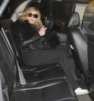 Madonna arriving at JFK airport, New York - 24 October 2011 (3)