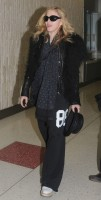 Madonna arriving at JFK airport, New York - 24 October 2011 (2)