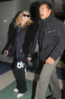 Madonna arriving at JFK airport, New York - 24 October 2011 (1)