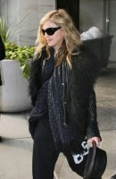 Madonna arriving at JFK airport, New York - 24 October 2011 (8)