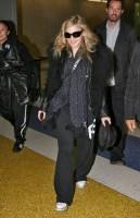 Madonna arriving at JFK airport, New York - 24 October 2011 (9)