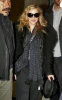Madonna arriving at JFK airport, New York - 24 October 2011 (10)