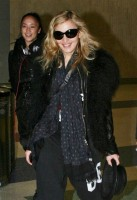 Madonna arriving at JFK airport, New York - 24 October 2011 (12)