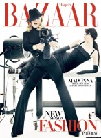 Madonna on the cover of Harper's Bazaar - December 2011 January - HQ (2)