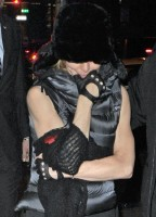 Madonna at the Kabbalah Centre, New York - 11 12 November 2011 (10)