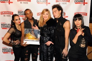 Madonna at the Smirnoff Nightlife Exchange Project, New York - 12 November 2011 (7)