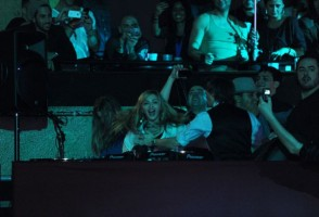 Madonna at the Smirnoff Nightlife Exchange Project, New York - 12 November 2011 (9)