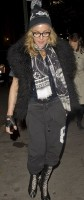 Madonna out and about in New York, 2 December 2011 (1)