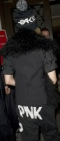 Madonna out and about in New York, 2 December 2011 (4)