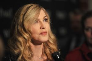 Madonna at the Cinema Society & Piaget screening  of WE, MOMA New York, 4 December 2011 (7)