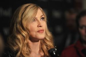 Madonna at the Cinema Society & Piaget screening  of WE, MOMA New York, 4 December 2011 (7)
