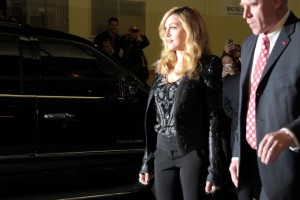 Madonna at the Cinema Society & Piaget screening  of WE, MOMA New York, 4 December 2011 (11)