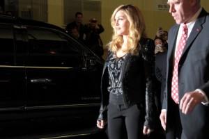 Madonna at the Cinema Society & Piaget screening  of WE, MOMA New York, 4 December 2011 (11)