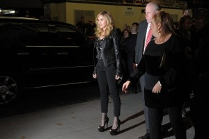 Madonna at the Cinema Society & Piaget screening  of WE, MOMA New York, 4 December 2011 (12)