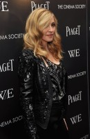 Madonna at the Cinema Society & Piaget screening  of WE, MOMA New York, 4 December 2011 (13)