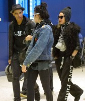Madonn at JFK airport, New York - 23 December 2011 (3)