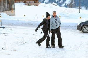 Madonna skiing in Gstaad, Switzerland - 27 December 2011 (3)