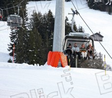 Madonna skiing in Gstaad, Switzerland - 27 December 2011 (5)