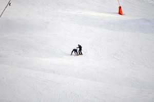 Madonna skiing in Gstaad, Switzerland - 27 December 2011 (7)