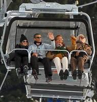 Madonns skying in Gstaad, Switzerland - 27 December 2011 - Update 01 (1)