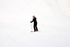 Madonna and family skiing Gstaad - 27 December 2011 and 3 January 2012 (1)