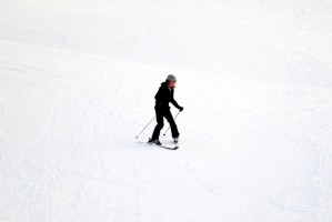 Madonna and family skiing Gstaad - 27 December 2011 and 3 January 2012 (4)