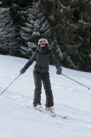 Madonna and family skiing Gstaad - 27 December 2011 and 3 January 2012 (13)