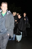 Madonna visits the Grand Chalet in Rossiniere - 2 January 2012 (1)