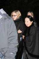 Madonna visits the Grand Chalet in Rossiniere - 2 January 2012 (2)