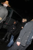 Madonna visits the Grand Chalet in Rossiniere - 2 January 2012 (3)