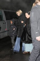 Madonna visits the Grand Chalet in Rossiniere - 2 January 2012 (4)