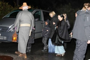 Madonna visits the Grand Chalet in Rossiniere - 2 January 2012 (5)