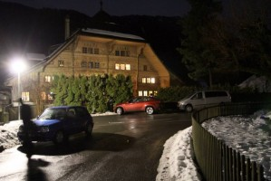 Madonna visits the Grand Chalet in Rossiniere - 2 January 2012 (11)