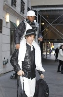 Madonna at the Kabbalah Centre in New York, 7 January 2012 (1)
