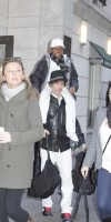 Madonna at the Kabbalah Centre in New York, 7 January 2012 (3)