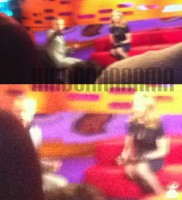 Madonna at the taping of the Graham Norton Show (2)