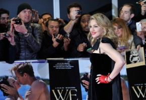 Madonna at the UK premiere of WE at the Oden Kensington in London - 11 January 2012 (10)