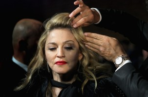 Madonna at the UK premiere of WE at the Odeon Kensington in London - 11 January 2012 - Update 3 (18)