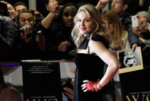 Madonna at the UK premiere of WE at the Odeon Kensington in London - 11 January 2012 - Update 1 (8)